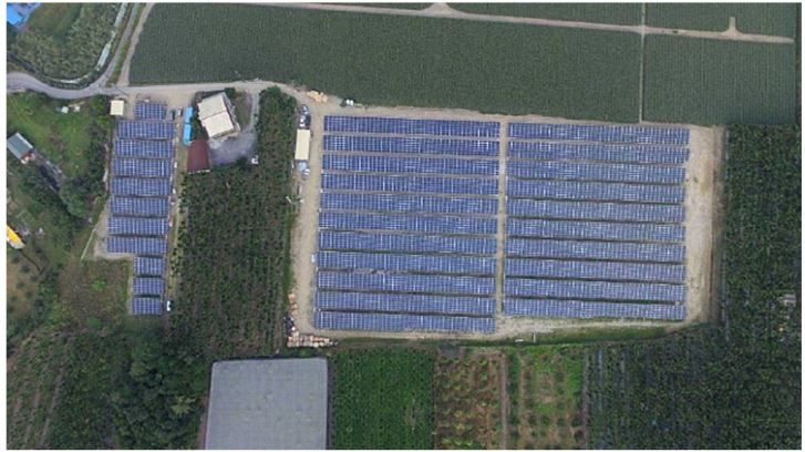 Eurus Energy's First Photovoltaic Power Plant in Taiwan